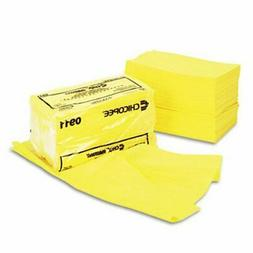 Chix 0911 - Masslinn Dust Cloths, 24 x 24, Yellow, 50/Bag, 2