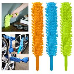 1 X Long Microfiber Duster Bendable Flexible Cleaning Brush