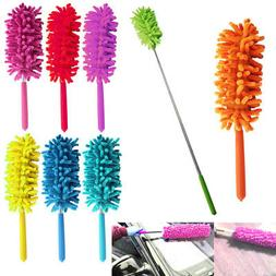 1 x Telescopic Microfiber Duster Extendable Cleaning Dust Ho