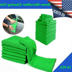 10 Micro Fiber Auto Car Detailing Cleaning Soft Cloth Towel