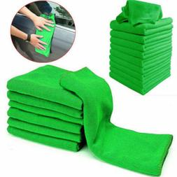 10Pcs Car Microfibre Cleaning Detailing Household Soft Cloth