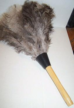 """13"""" Ostrich Feather Duster Durable Dusting Cleaning Tool Fre"""
