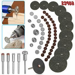 60Pcs Cutting Wheel Set for Mini Drill Dremel Rotary Tool Ac