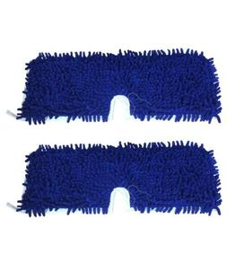 2 Replacements O-Cedar Dual Action Microfiber Flip Mop Pads