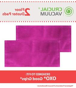 2 Replacements OXO Good Grips Microfiber Floor Duster Pads P