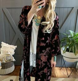 2x nwt boutique plus size black velvet