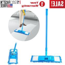 360° Microfiber Mop Hardwood Floor Dust Hairs Cleaning Wash
