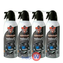 4Pk Falcon Compressed Air Gas Duster Cans Computer Dust Off