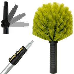 DocaPole 5-12 Foot Extension Pole with Cobweb Duster Dusting