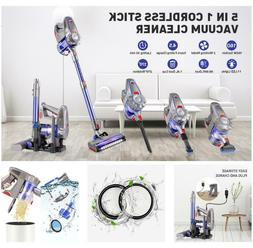 5-in-1 Cordless Stick Handheld Vacuum Cleaner HEPA for Home