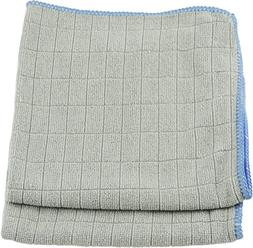 UNGER 966910 MIRROR/GLASS WIPING CLOTHS, 12 X 12, 2/PACK