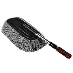Microfiber Car Duster Exterior Interior Cleaner Cleaning Kit