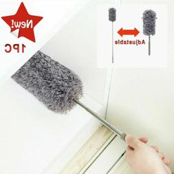 Adjustable Soft Microfiber Duster Dusting Brush Household Cl