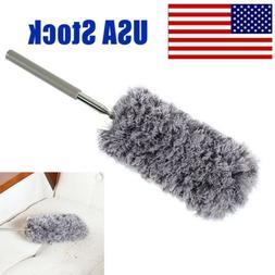 adjustable soft microfiber duster dusting brush household