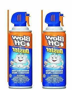 Air Duster Can MAX Professional Cleaner Blow Off  Pack Of 2
