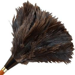 "14"" APEX Premium Ostrich Feather Duster--Gray Feathers"