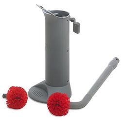 Unger BBWHR Ergo Toilet Bowl Brush Complete: Wand, Brush Hol