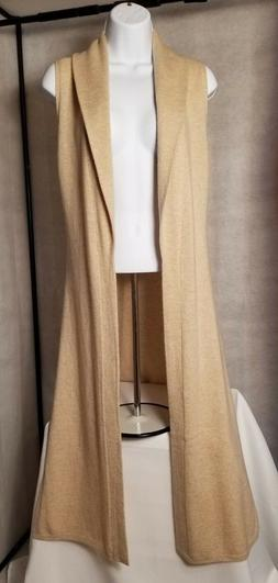 Calypso St Barth Ravali Sweater 100% Cashmere Long Duster XS
