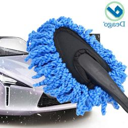 Car Wash Cleaning Brush Duster Dust Wax Mop Microfiber Teles