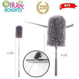 Clean Microfiber Brush Retractable Ceiling Fan Duster Cleane