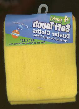 "Cleaning 12"" x 12"" Soft Duster  Cloths Polish Wash Dry Surfa"