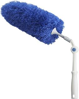 Unger Click & Dust Microfiber Duster with Pivoting Handle