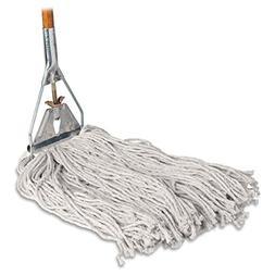 """Genuine Joe Cotton Wet Mop with Handle 60"""" Width x 0.94"""" Hei"""