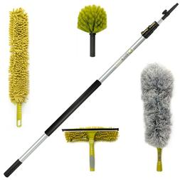 DocaPole Cleaning Kit with 12 Foot Extension Pole // Include