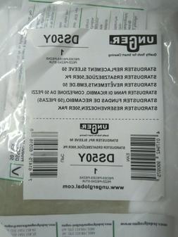 UNGER DS50Y Duster Sleeve,Polypropylene,PK50