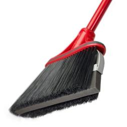 O-Cedar Dual-Action Angler Pet Hair Broom