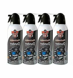 Dust-Off Compressed Gas Duster Pack of 4
