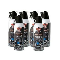 Dust-Off Disposable Compressed Gas Duster, 10 oz Cans, 6 Pac