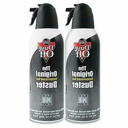 Dust-Off Disposable Compressed Gas Duster, 10 oz Cans, 2 Pac