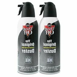 Dust-off Disposable Compressed Gas Duster, 2 10oz Cans/Pack