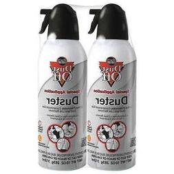 DUST-OFF DPNXL2 Aerosol Duster,10 oz.,PK2