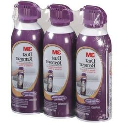 3M Dust Remover - Compressed Gas Duster - 8 Oz - 3 Pack