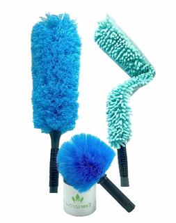 EVERSPROUT Duster 3-Pack | Cobweb, Feather, Flexible Fan Dus