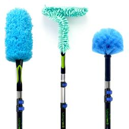 EVERSPROUT Duster 3-Pack with Extension-Pole  | Cobweb, Feat