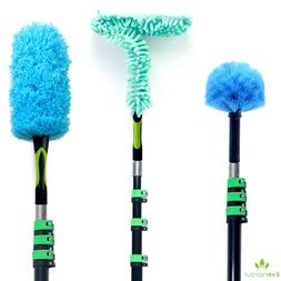EVERSPROUT Duster 3-Pack with Extension Pole  | Cobweb, Feat