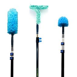 EVERSPROUT Duster 3-Pack with Extension-Pole  | Hand-Package