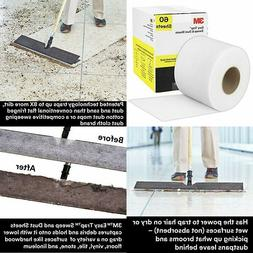 3M Easy Trap Duster, sweep and dust sheets, 5 x 6 in, 60 she