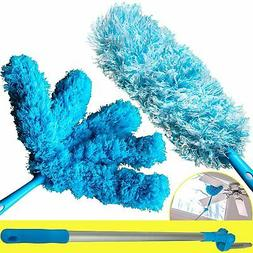 Extendable Microfiber Duster With 5ft Lightweight Extension