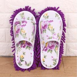 Floor cleaning slippers microfiber <font><b>mop</b></font> c