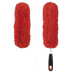 OXO Good Grips Microfiber Hand Duster with Microfiber Duster