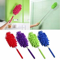 Head Home Cleaning Car Washer Portable Duster Extendable Bru