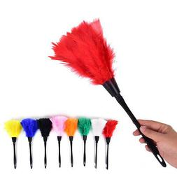 Home Office Keyboard Clean Anti Static Turkey Feather Duster