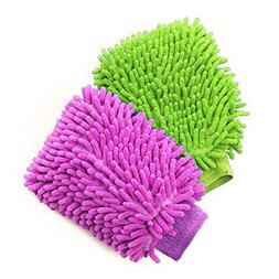 Besmelody House Cleaning and Car Wash Mitts, Home Dusting Mi