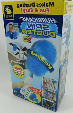 Hurricane Spin Electric Duster Motorized Dust Wand Brush Hou