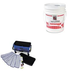 KITFKLF218026RCPQ050 - Value Kit - Rubbermaid Microfiber Fin