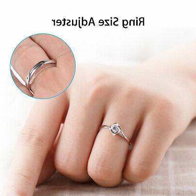 10 Ring Size Adjuster Set Jewelry Perfect Kit